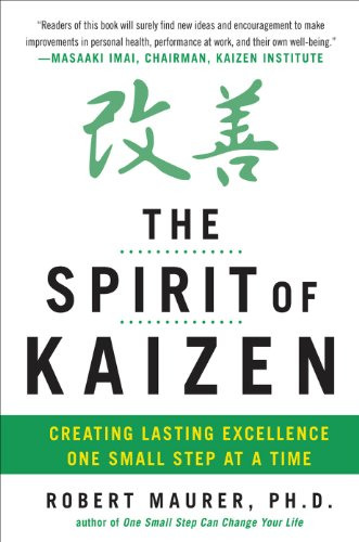 Amazon the spirit of kaizen creating lasting excellence one the spirit of kaizen creating lasting excellence one small step at a time creating fandeluxe Images