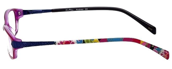 8fab94ad8f Amazon.com  Vera Bradley Designer Eyeglass Frame Audrey-VVB in Va Va Bloom  47mm  Clothing