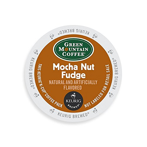 Green Mountain Coffee Abuse Roast K-Cup for Keurig Brewers, Mocha Nut Fudge Coffee (Pack of 96)