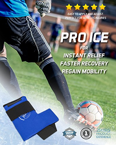 Ankle/Foot Ice Therapy Wrap – Perfect for Sprained Ankles, Plantar Fasciitis, Achilles tendonitis, and Swelling Feet - Ice Packs Included by PRO ICE COLD THERAPY PRODUCTS (Image #6)