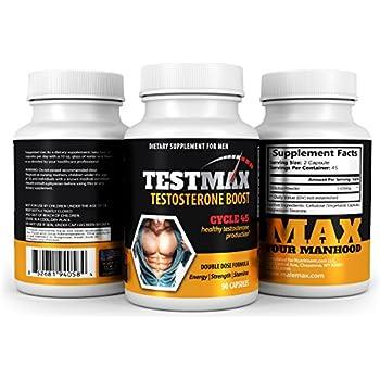 Amazon.com: Max muscular, t-1000- prueba booster-increase ...