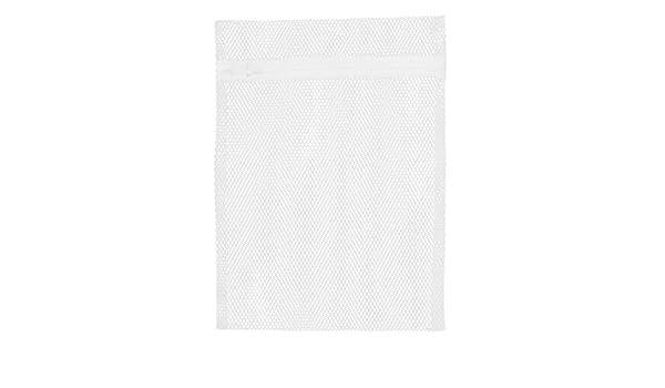 Amazon.com: eDealMax Calcetín Con cremallera Sujetador de ropa de lavandería de Lavado Bolsas acoplamiento de la red Titular 40x30cm: Home & Kitchen