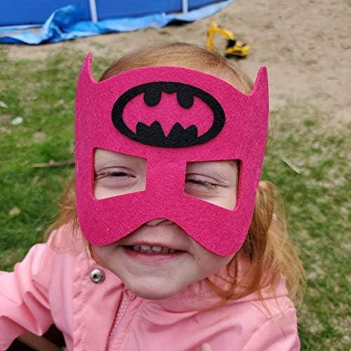 51IJZIPH VL. AC  - RoterSee 50Pcs Superhero Masks Party Favors for