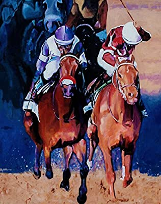 NYQUIST & GUN RUNNER 2016 Kentucky Derby Fine Art Print 11x14 Inches