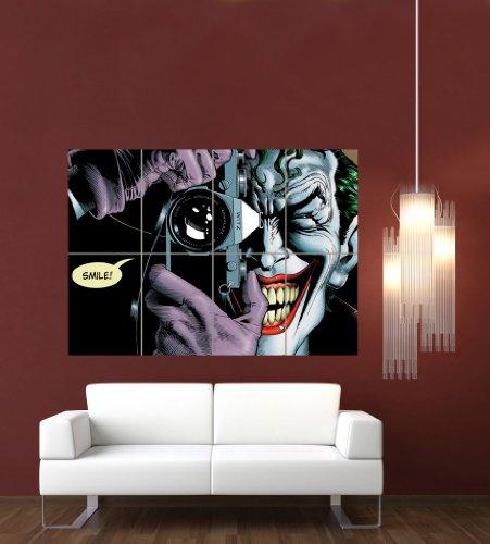 JOKER BATMAN THE KILLING JOKE GIANT WALL ART PRINT POSTER PICTURE G992 by Doppelganger33LTD