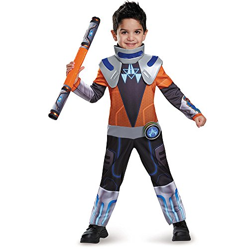 [Disguise Miles Chrome Classic Toddler Miles From Tomorrowland Disney Costume, Medium/3T-4T] (Best Tv Show Halloween Costumes)