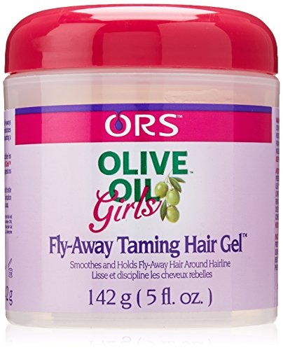 Kids Organic Olive (Organic Root Stimulator Olive Oil Girls Fly Away Taming Hair Gel, 5 Ounce)