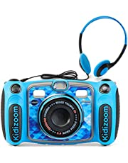 VTech Kidizoom Duo 5.0 Deluxe Digital Selfie Camera with MP3 Player & Headphones,