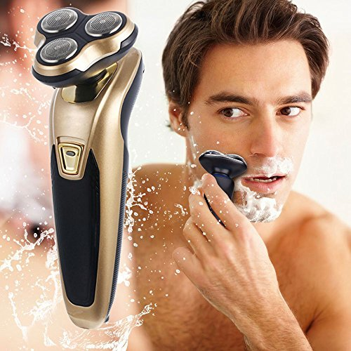 Euone Electric Shaver Rotary Shaver Wet and Dry 3 in 1 With Nose Trimmer Razor by Euone