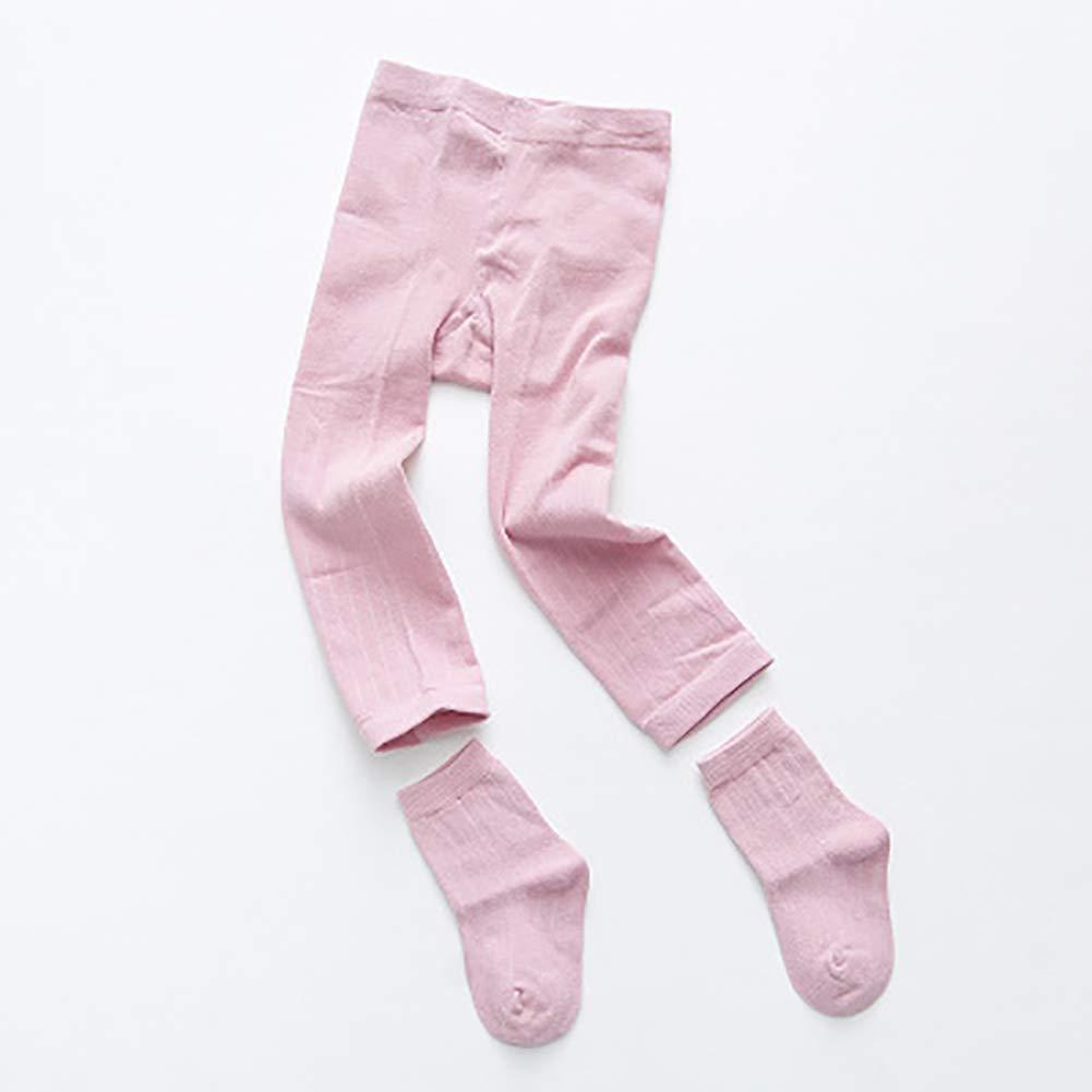 4 Pack Baby Girls Cable Knit Leggings Pants Toddler Footless Tights Stockings 4 Legging Pants 4 Pairs Socks