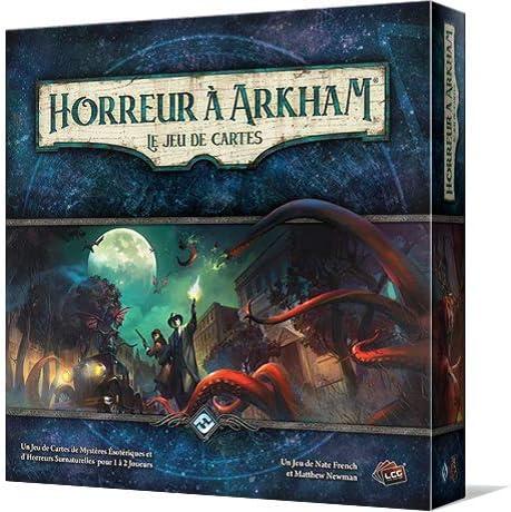 Asmodee – Terror de Arkham: El Juego de Tarjetas, ffjcha01, no precisa: Amazon.es: Juguetes y juegos