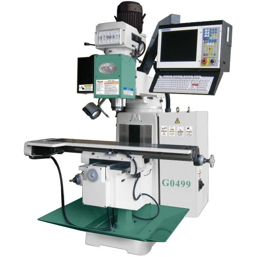 Grizzly G0499  3 Axis Cnc Milling Machine Power Milling Machines Amazon Com