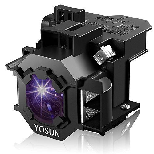 - YOSUN V13H010L42 Projector Bulb for Epson ELPLP42 PowerLite Home Cinema 83+ 83C 410W 400W 822P 822+ EB-400WE EMP-400WE 410W 822H 83H EX90 emp-280 Replacement Projector Lamp Bulb