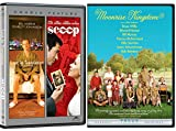 Moonrise Kingdom + Lost in Translation & Scoop 2 DVD Set Bill Murray Films Double Feature