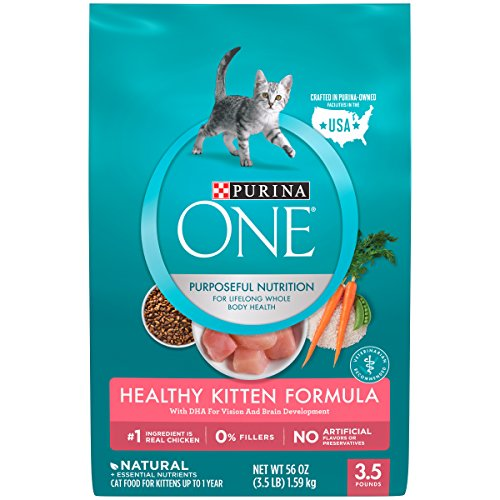 Purina ONE Healthy Kitten Formula Dry Kitten Food - 3.5 lb. Bag