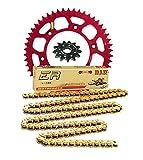 Pro Taper Sprockets & Chain Kit - 15/50 RED - Honda CRF150R, CRF150RB _033370|033248|420NZ3x130