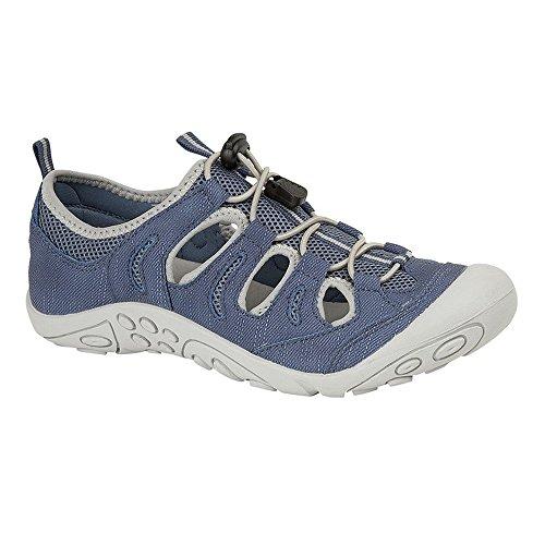 (ピー?ディー?キュー) PDQ レディース パッド入り トグル スポーツサンダル 婦人靴 カジュアル 女性用