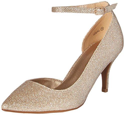 PAIRS Gold Glitter Pump DREAM Ideal Women's 6xAdwq1