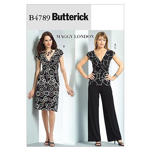 Uncut Vintage Butterick Pattern Dress - 8