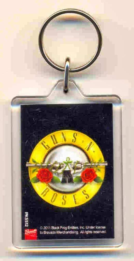Guns N Roses - Llavero con Logotipo clásico (en 4 cm x 9 cm ...