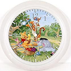 New Winnie the Pooh Wall Clock 10 Will Be Nice Gift and Room Wall Decor Y28