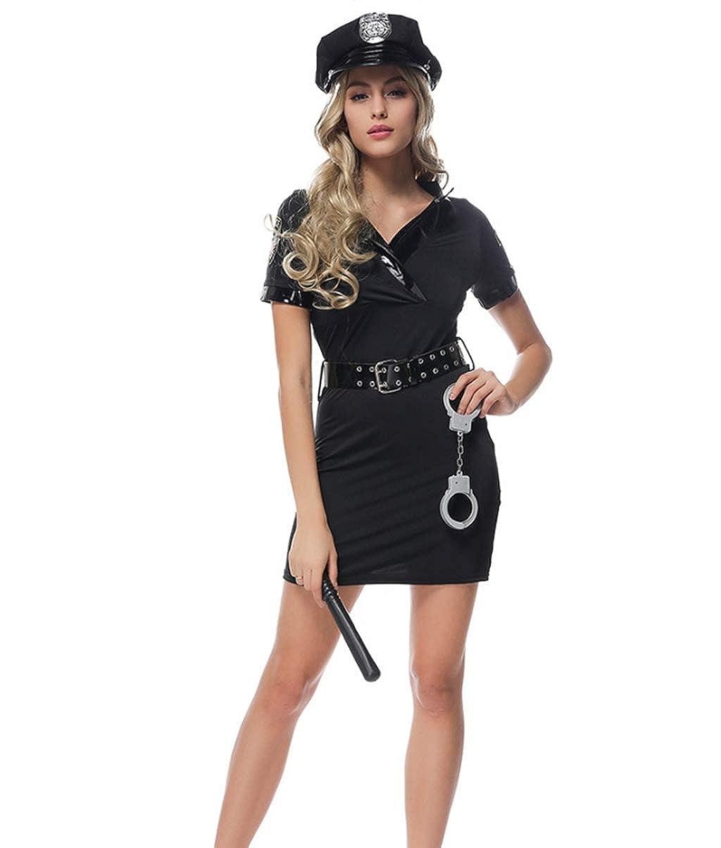YL Style Policía Uniforme de policía Uniforme para Mujer ...