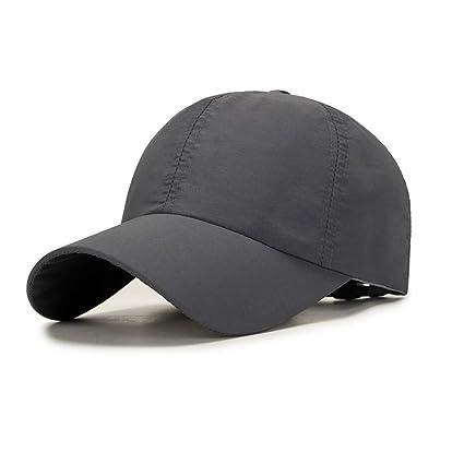 YiWu Gorra De Béisbol Hombre Primavera Y Verano Otoño Gorra Al Aire Libre Sombrero De Secado