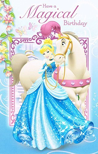 Amazon disney princess cinderella have a magical birthday card disney princess cinderella have a magical birthday card bookmarktalkfo Gallery