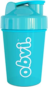 Obvi Shaker Bottle, Great for Mixing Drinks, Protein Shakes, Portable 16 Ounce Shaker Cup