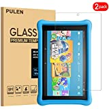 [2-Pack] PULEN Kindle Fire HD 10 2018 Screen Protector(10.1 Inch),0.3mm Slim HD Clear Anti-Fingerprints 9H Tempered Glass Film for Kindle Fire HD 10 Kids Edition Tablet 2018 Released(10.1 Inch)