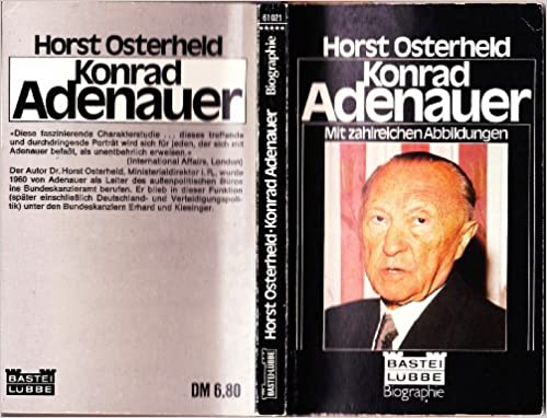 konrad adenauer bastei lbbe biographie german edition horst osterheld 9783404006946 amazoncom books - Konrad Adenauer Lebenslauf