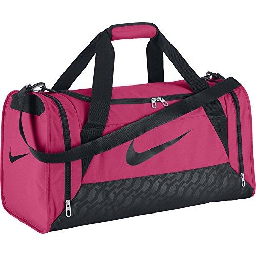 Nike Damen Sporttasche Brasilia 6 Duffel, Spark/Black, 52 x 28 x 30 cm, 44 Liter, BA4910-606