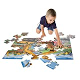 Melissa & Doug Building Site Jumbo Jigsaw Floor