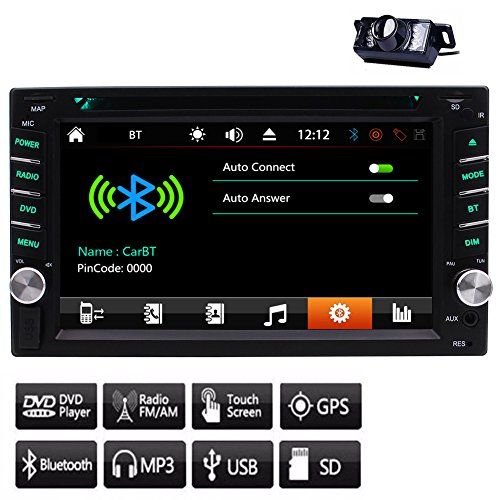 GPS EinCar Capacitive TouchScreen Car Stereo BT Audio: Amazon.co.uk: Electronics