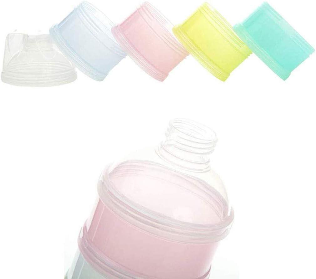 mat/ériel de PP qualit/é alimentaire newpi doseur pour lait en poudre empilable R/écipient collation libre empilable Bo/îte pour lait en poudre