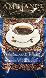 5 Pounds Ambiance Restaurant Blend Premium Ground Roasted Coffee, Pack of 1