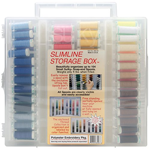 Sulky Size-40 Embroidery Slimline Polyester Dream Assortment by Sulky