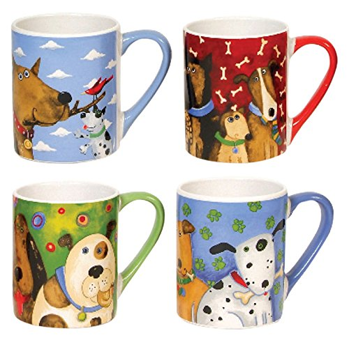 Gibson Elite Dogs Mugs Multicolor