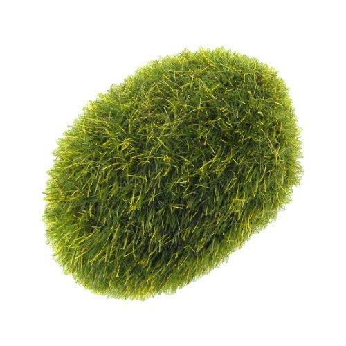 eDealMax Jardin artificiel Moss Lichen ornement en Pierre Pour Aquarium, vert foncé