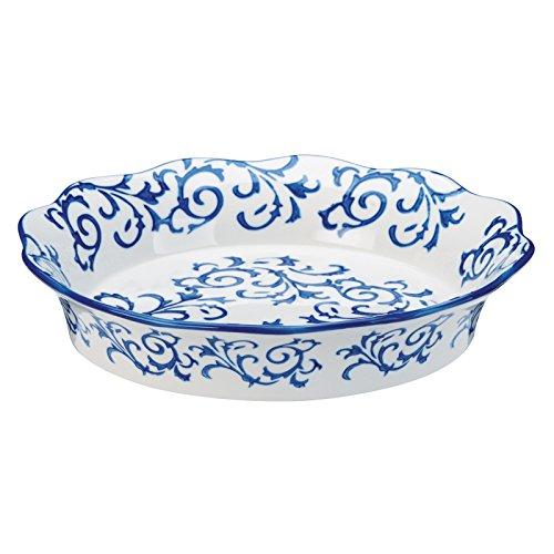 BIA Cordon Bleu White Stoneware Fluted 10 inch Pie/Quiche ()