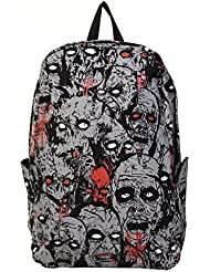 Banned Alternative Apparel UK Grey and Black Zombie Backpack