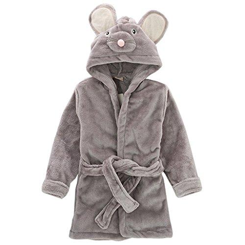 Amazon.com: Toddler Kids Sleepwear Hooded Bathrobe, Baby Boys Girls Nightgown Animal Robe: Baby