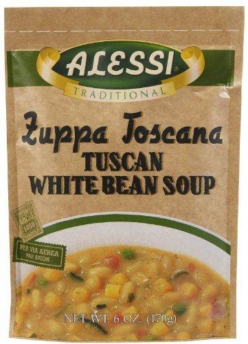 - Alessi Zuppa Toscana Tuscan White Bean Soup- 6 oz, 6 pk by Alessi
