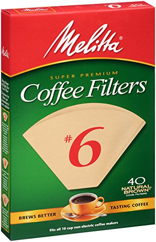 6 coffee filters unbleached - 4