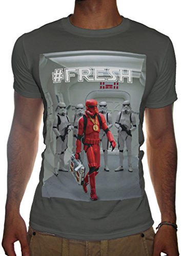 SubWorks Ltd. -  T-shirt - Uomo grigio Small
