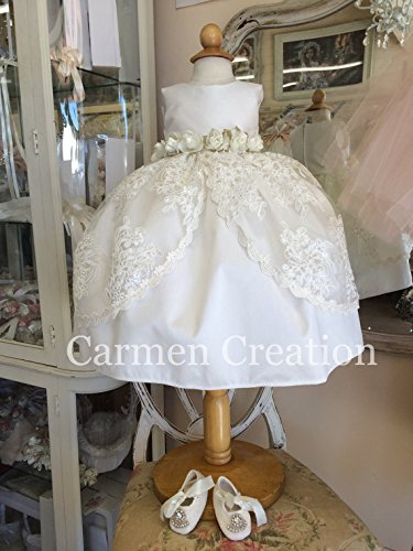 Vintage Princess Baptism Outfit by Carmen Creation