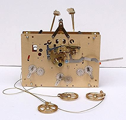 Replacement grandfather clock movements