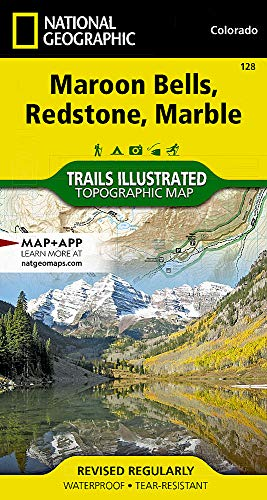 (Maroon Bells, Redstone, Marble (National Geographic Trails Illustrated Map))