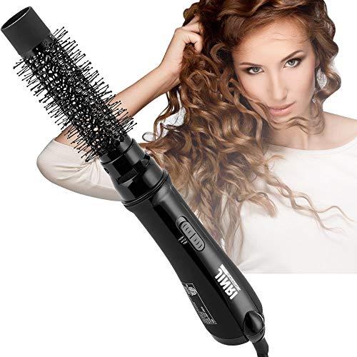Professional Salon Ion Hot Air Brush Home Safe Hair Styling Comb Hair Dryer 1000 Watt Black