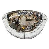 "Se-Kure Domes & Mirrors ONV-180-18 Half Dome Mirror, 18"" Diameter"